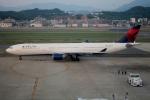 日向雪兎さんが、福岡空港で撮影したデルタ航空 A330-323Xの航空フォト(写真)