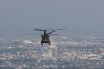 KJさんが、相馬原駐屯地で撮影した陸上自衛隊 CH-47Jの航空フォト(写真)
