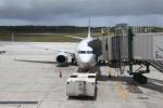 けいとパパさんが、グアム国際空港で撮影したコンチネンタル航空 737-824の航空フォト(写真)