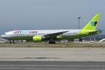 Wings Flapさんが、関西国際空港で撮影したジンエアー 777-2B5/ERの航空フォト(写真)