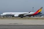 Wings Flapさんが、関西国際空港で撮影したアシアナ航空 A350-941XWBの航空フォト(写真)