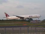 HANEDA 747さんが、成田国際空港で撮影したカタール航空 777-3DZ/ERの航空フォト(飛行機 写真・画像)