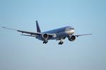 T.Sazenさんが、関西国際空港で撮影したカタール航空 777-3DZ/ERの航空フォト(写真)