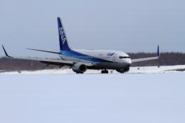 omarumannさんが、中標津空港で撮影した全日空 737-881の航空フォト(飛行機 写真・画像)