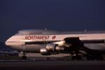 Gambardierさんが、伊丹空港で撮影したノースウエスト航空 747-251Bの航空フォト(写真)