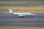セブンさんが、羽田空港で撮影した中日本航空 560 Citation Vの航空フォト(飛行機 写真・画像)