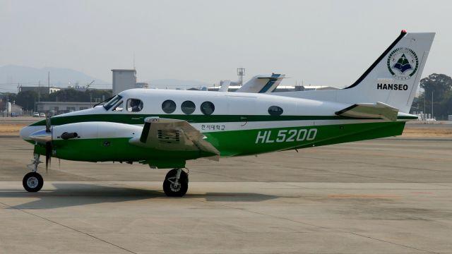 韓瑞大学校 Beechcraft 90 King ...