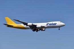 sonnyさんが、成田国際空港で撮影したアトラス航空 747-87UF/SCDの航空フォト(写真)
