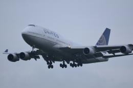 うとPさんが、成田国際空港で撮影したユナイテッド航空 747-422の航空フォト(飛行機 写真・画像)