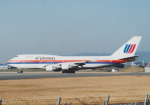 Izumixさんが、伊丹空港で撮影したユナイテッド航空 747-422の航空フォト(飛行機 写真・画像)