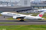 吉田高士さんが、羽田空港で撮影した日本航空 777-289の航空フォト(写真)