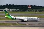T.Sazenさんが、成田国際空港で撮影した春秋航空日本 737-86Nの航空フォト(写真)