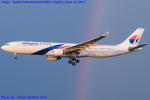 Chofu Spotter Ariaさんが、成田国際空港で撮影したマレーシア航空 A330-323Xの航空フォト(飛行機 写真・画像)