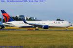 Chofu Spotter Ariaさんが、成田国際空港で撮影したデルタ航空 767-332/ERの航空フォト(飛行機 写真・画像)