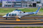 Chofu Spotter Ariaさんが、東京ヘリポートで撮影した日本デジタル研究所(JDL) AW109SPの航空フォト(飛行機 写真・画像)