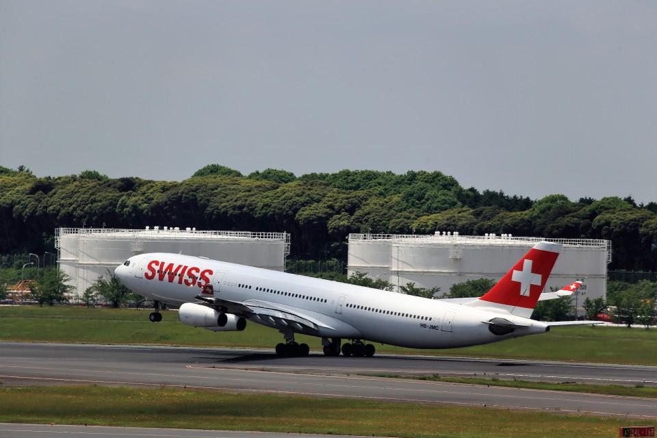 T.Sazenさんのスイスインターナショナルエアラインズ Airbus A340-300 (HB-JMC) 航空フォト