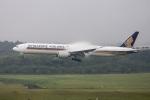 xingyeさんが、成田国際空港で撮影したシンガポール航空 777-312/ERの航空フォト(写真)