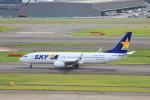 Gpapaさんが、羽田空港で撮影したスカイマーク 737-8HXの航空フォト(写真)