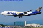 Chofu Spotter Ariaさんが、横田基地で撮影したアトラス航空 747-446の航空フォト(写真)
