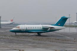 たまさんが、羽田空港で撮影したロンドン・エア・サービス CL-600-2B16 Challenger 605の航空フォト(飛行機 写真・画像)
