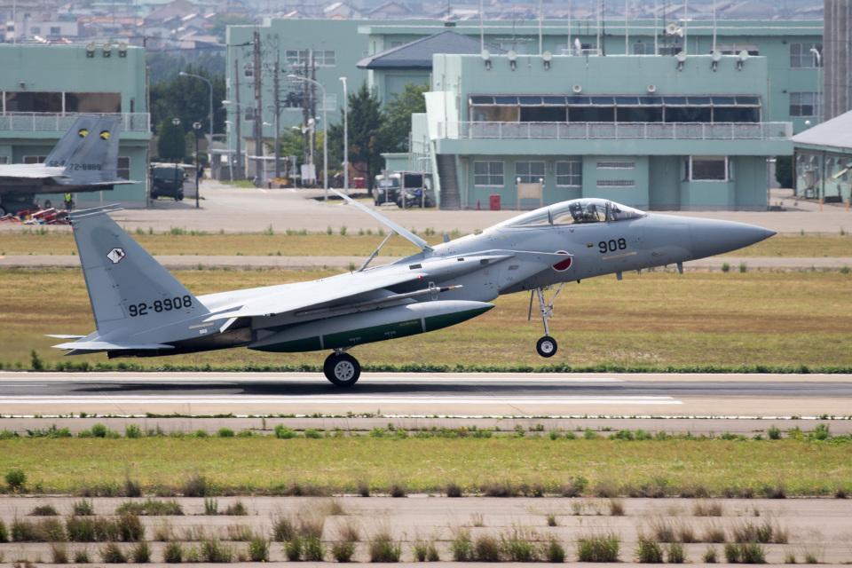 チャッピー・シミズさんの航空自衛隊 Mitsubishi F-15J Eagle (92-8908) 航空フォト