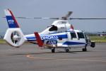 kumagorouさんが、仙台空港で撮影した東邦航空 AS365N2 Dauphin 2の航空フォト(飛行機 写真・画像)