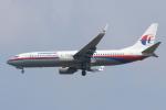 安芸あすかさんが、スワンナプーム国際空港で撮影したマレーシア航空 737-8FZの航空フォト(写真)