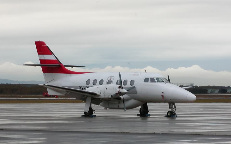 airbandさんのジェイエア British Aerospace Jetstream 31/Super 31 (OY-SVB) 航空フォト