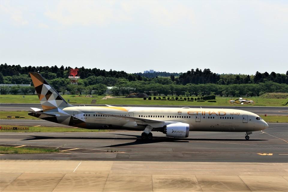 T.Sazenさんのエティハド航空 Boeing 787-9 (A6-BLB) 航空フォト