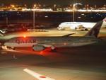 FT51ANさんが、羽田空港で撮影したカタール航空 787-8 Dreamlinerの航空フォト(飛行機 写真・画像)