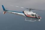 やまけんさんが、松本空港で撮影した東邦航空 AS350B Ecureuilの航空フォト(写真)