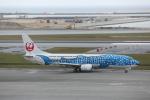 ATOMさんが、那覇空港で撮影した日本トランスオーシャン航空 737-4Q3の航空フォト(飛行機 写真・画像)
