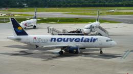 lufthansa9919さんが、デュッセルドルフ国際空港で撮影したヌーべルエア・チュニジア A320-214の航空フォト(飛行機 写真・画像)