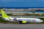 Harry Lennonさんが、那覇空港で撮影したソラシド エア 737-86Nの航空フォト(写真)