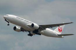 雪虫さんが、新千歳空港で撮影した日本航空 777-246の航空フォト(写真)