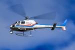 アミーゴさんが、松本空港で撮影した東邦航空 AS350B Ecureuilの航空フォト(写真)
