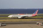 Gpapaさんが、羽田空港で撮影したアメリカン航空 777-223/ERの航空フォト(写真)