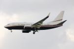 Gulf650Erさんが、成田国際空港で撮影したAEJ・サービシーズ 737-7BC BBJの航空フォト(写真)