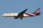 安芸あすかさんが、スワンナプーム国際空港で撮影したタイ国際航空 777-2D7の航空フォト(写真)
