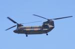 yabyanさんが、名古屋飛行場で撮影した陸上自衛隊 CH-47JAの航空フォト(写真)