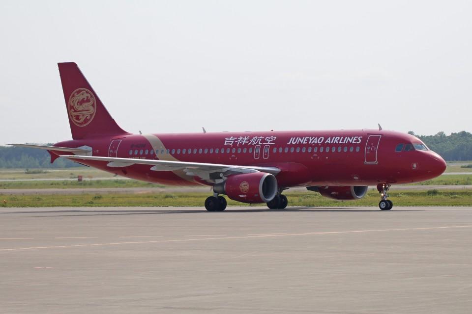 北の熊さんの吉祥航空 Airbus A320 (B-6298) 航空フォト