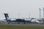 ATOMさんが、新千歳空港で撮影したオーロラ DHC-8-402Q Dash 8の航空フォト(写真)