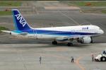 雪虫さんが、新千歳空港で撮影した全日空 A320-211の航空フォト(写真)