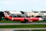 まいけるさんが、ドンムアン空港で撮影したタイ・エアアジア・エックス A330-343Eの航空フォト(写真)
