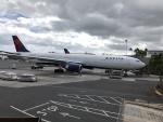 職業旅人さんが、ダニエル・K・イノウエ国際空港で撮影したデルタ航空 A330-302の航空フォト(写真)