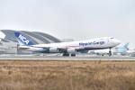 Cimarronさんが、ロサンゼルス国際空港で撮影した日本貨物航空 747-8KZF/SCDの航空フォト(写真)