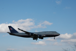 ho ho hoさんが、成田国際空港で撮影したユナイテッド航空 747-422の航空フォト(飛行機 写真・画像)