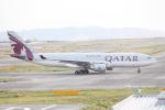 Runway747さんが、関西国際空港で撮影したカタール航空 A330-202の航空フォト(写真)