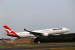 こだしさんが、成田国際空港で撮影したカンタス航空 A330-303の航空フォト(写真)
