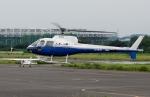 あきらっすさんが、調布飛行場で撮影した東邦航空 AS350B Ecureuilの航空フォト(飛行機 写真・画像)